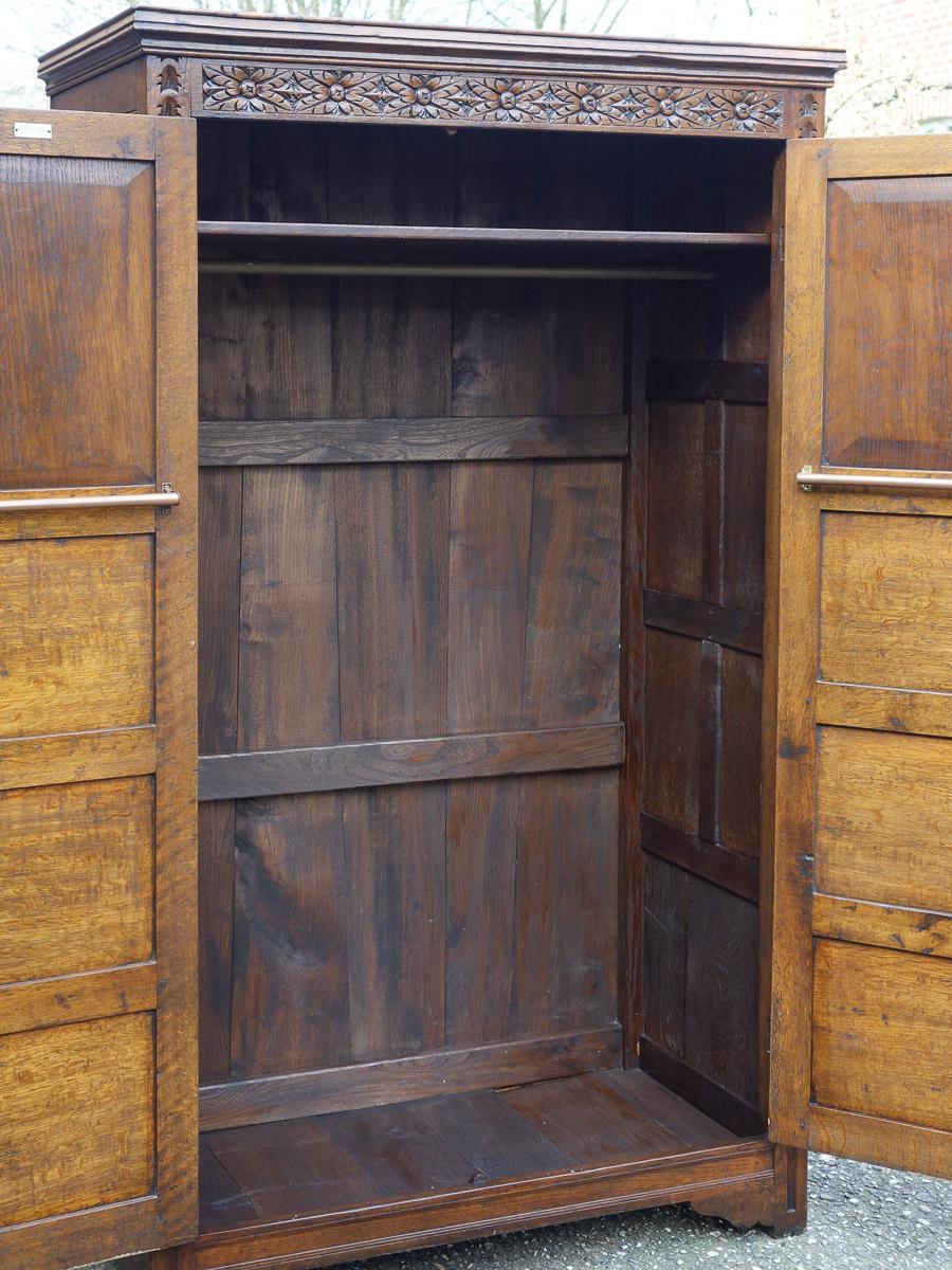 Dielenschrank Antik In Eiche Von 1920 Restauriert Wohnfertig
