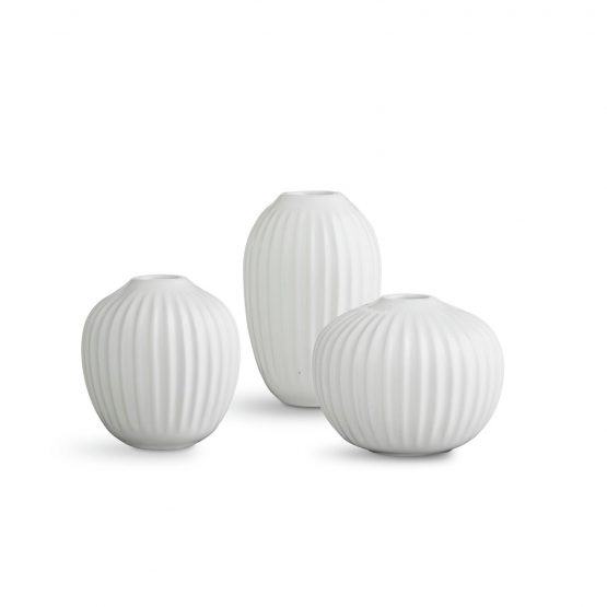 Hammershoi Mini Vasen weiß