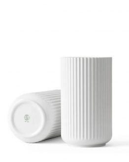 Lyngbyvase 25cm weiß