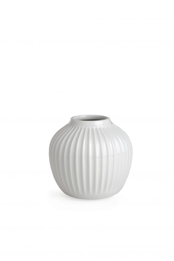Hammershoi Vase 12,5cm weiß